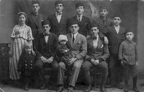 A Dervišević-család a Nagy Háború előtt