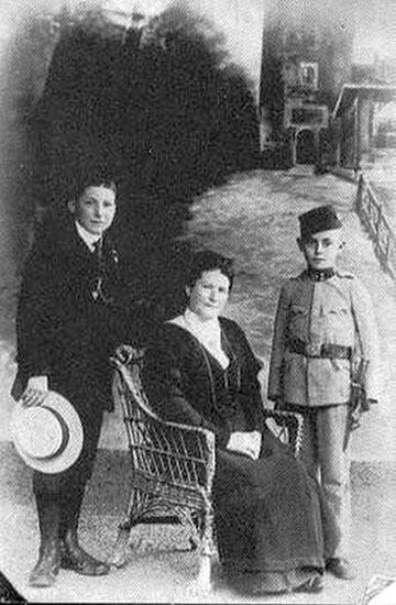 Az Ernsthaler család körében