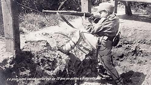 Dragoljub Jeličić tűzkeresztsége Belgrád 1914-es augusztusi védelme során