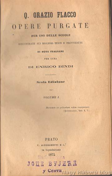 A zsákmányolt kötet