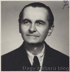 Dudás László arcképe az 1950-es évek elejéről