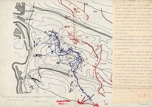 Állások Sapowánál 1916. februrár 11-én