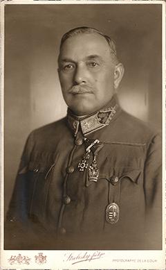Gombos Zoltán tábornoki portréja