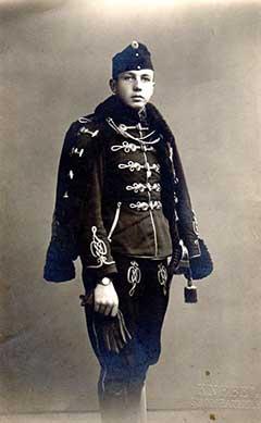 dukai Takách Lajos 1914-ben