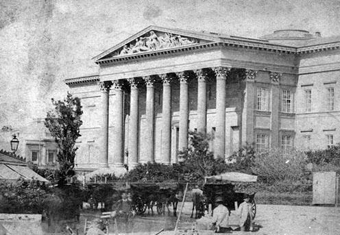 A Magyar Nemzeti Múzeum 1900-ban