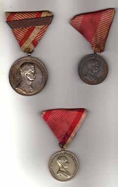 Mészáros Kiss János ma is meglévő kitüntetései