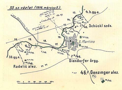 Mráz Pál Nagyezüst Vitézségi Érme megszerzésének a helyszíne a Doberdó-fennsíkon. Kókay Lászlóval már ebben az időszakban is ismerhették volna egymást