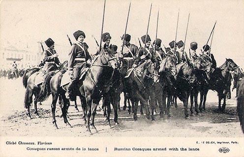 Kozák lovasok