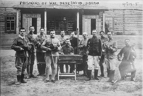 Berezovkai fogolytábor