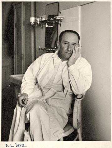 Édesapám a Maros utcai zsidókórházban.