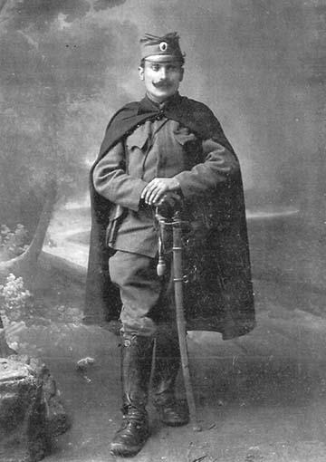 Vojislav Tankosić ifjú tisztként