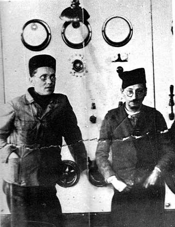 Börtönnapok: Tito harcostársa, Moša Pijade társaságban az 1920-as évek végén