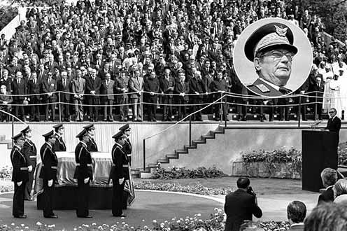 Tito temetése 1980. május 4-én