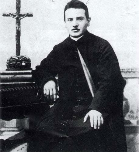A papnövendék Giuseppe Roncalli