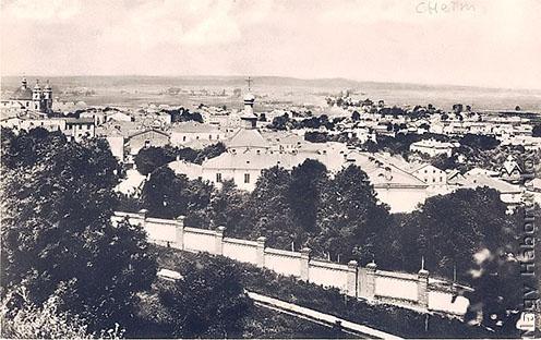 Kolm látképe a XX. század elején