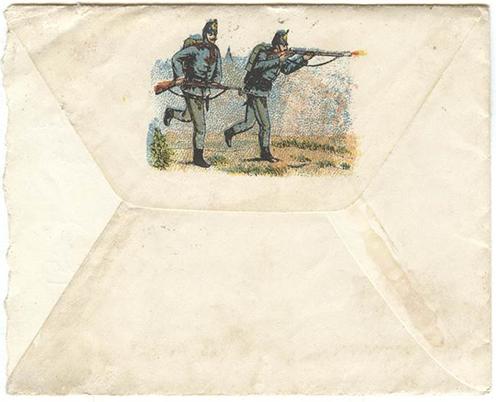 Jankó Zsigmond egyik levelének borítékja a sok százból
