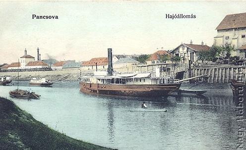 A pancsovai folyami kikötő