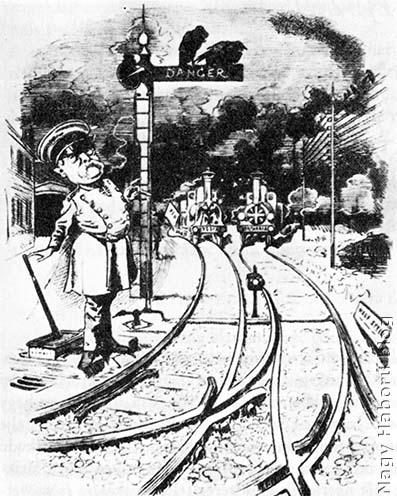 Bismarck, a váltókezelő. Németország összetűzést provokál Oroszország és Anglia között
