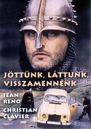 A Jöttünk, láttunk, visszamennénk című film plakátja