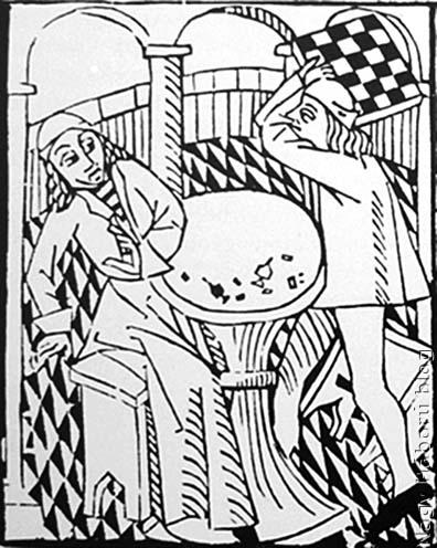 Nagy Károly unokaöccse a vesztes parti után csalással gyanúsítja az egyik Haymon-fivért, aki a sakktáblával vesz elégtételt a sértésért