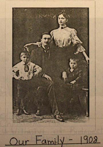 Családi portré 1908-ból