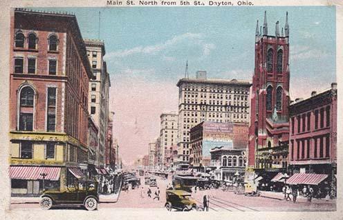 Dayton az 1910-es években