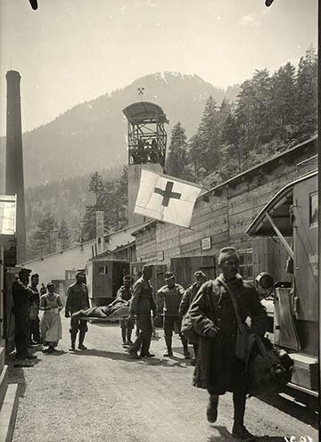 Raibl, elsősegély állomás