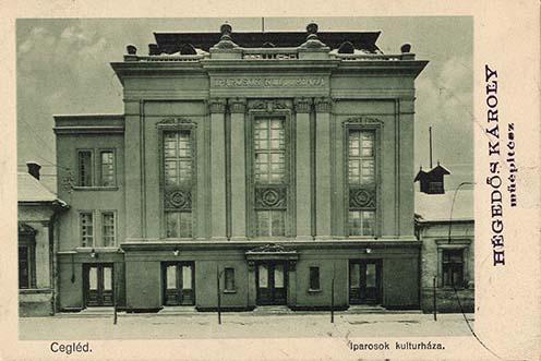A ceglédi Iparosok Kultúrháza (a mai Kossuth Művelődési Központ) tervezése is nevéhez fűződik