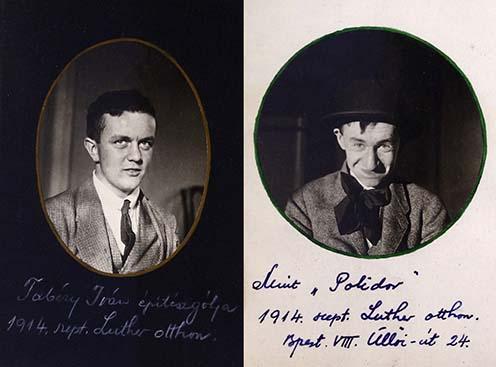 Tabéry Iván (1896-1960) neves építész, 1953-1955 között a Magyar Építőművészek Szövetségének elnöke, Tabéry Géza (1890–1958) író testvére. Hegedős Károllyal a két háború között számos közös tervpályázaton vett részt. Polidor a korabeli némafilmek egyik állandó vígjátékszereplője volt