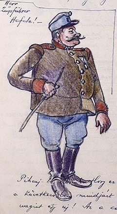 Zugsführer Hefele, a Monarchia derék katonája