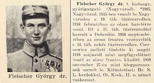 Fleischer György hadiútja