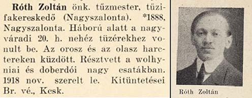 Róth Zoltán hadiútja