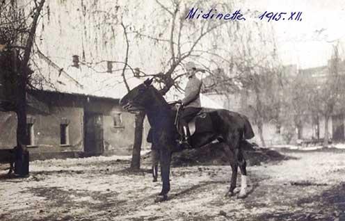Hegedős Károly új lova, Midinette