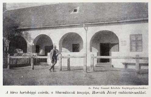 A Hortobágyi Csárda 1917-ben a Nimród vadászújságban