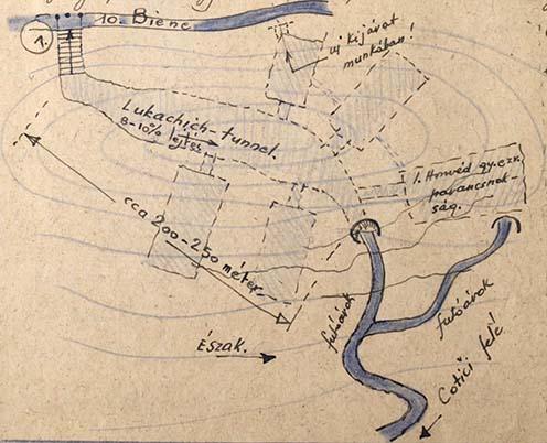 A Lukachich-alagút és környezete