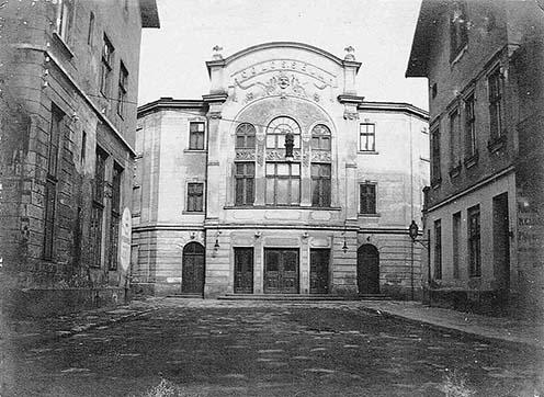 A Colosseum az egyik legnépszerűbb szórakozóhely volt Lembergben, már a háborút megelőzően mozi is üzemelt benne. A kép 1915 és 1918 között készült