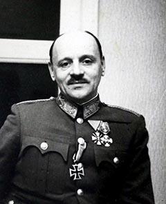 Polónyi Lajos ezredes. 1943
