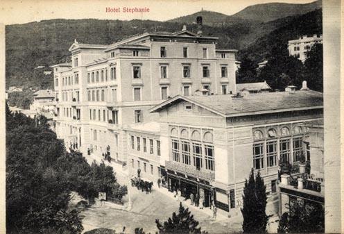 A Hotel Stephanie Abbáziában