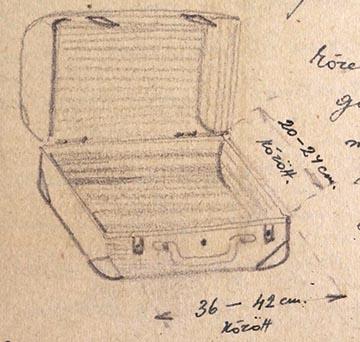A kis kézi koffer