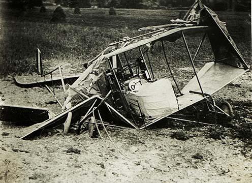 Lelőtt olasz repülőgép