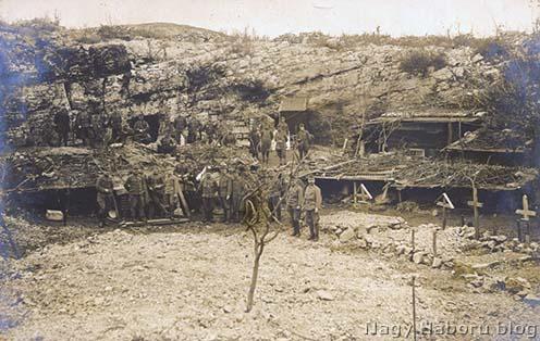 Élők és holtak egy dolinában a Doberdón