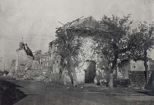 A romos Doberdó falu