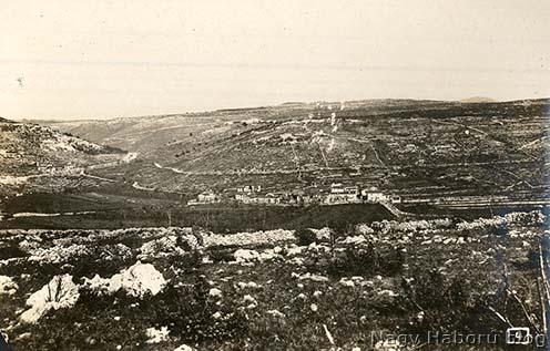 A Vallone-völgy a háború idején