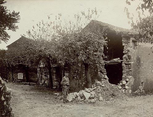Osztrák–magyar katona Oppacchiasellában 1915-ben