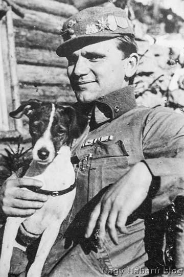 Imre Gábor Dodóval 1917-ben