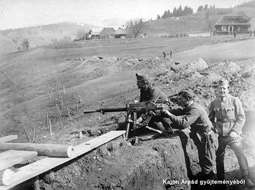 Osztrák–magyar géppuskások