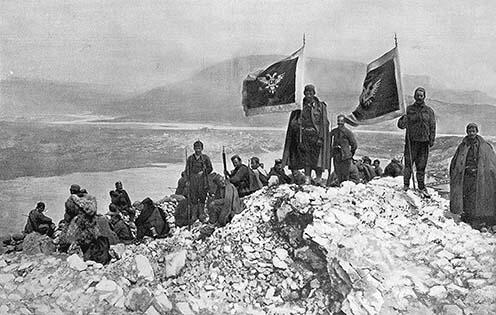 Montenegrói katonák