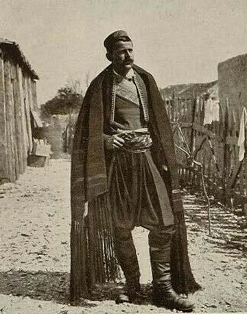 Pašić Živojin Mišić vajda társaságában 1914 őszén