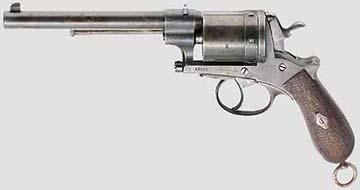 Az Armeerevolverként emlegetett Gasser M1870