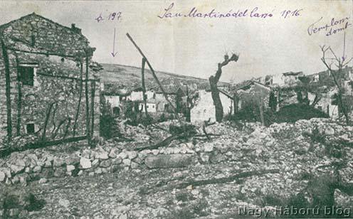 A romos San Martinó 1916-ban